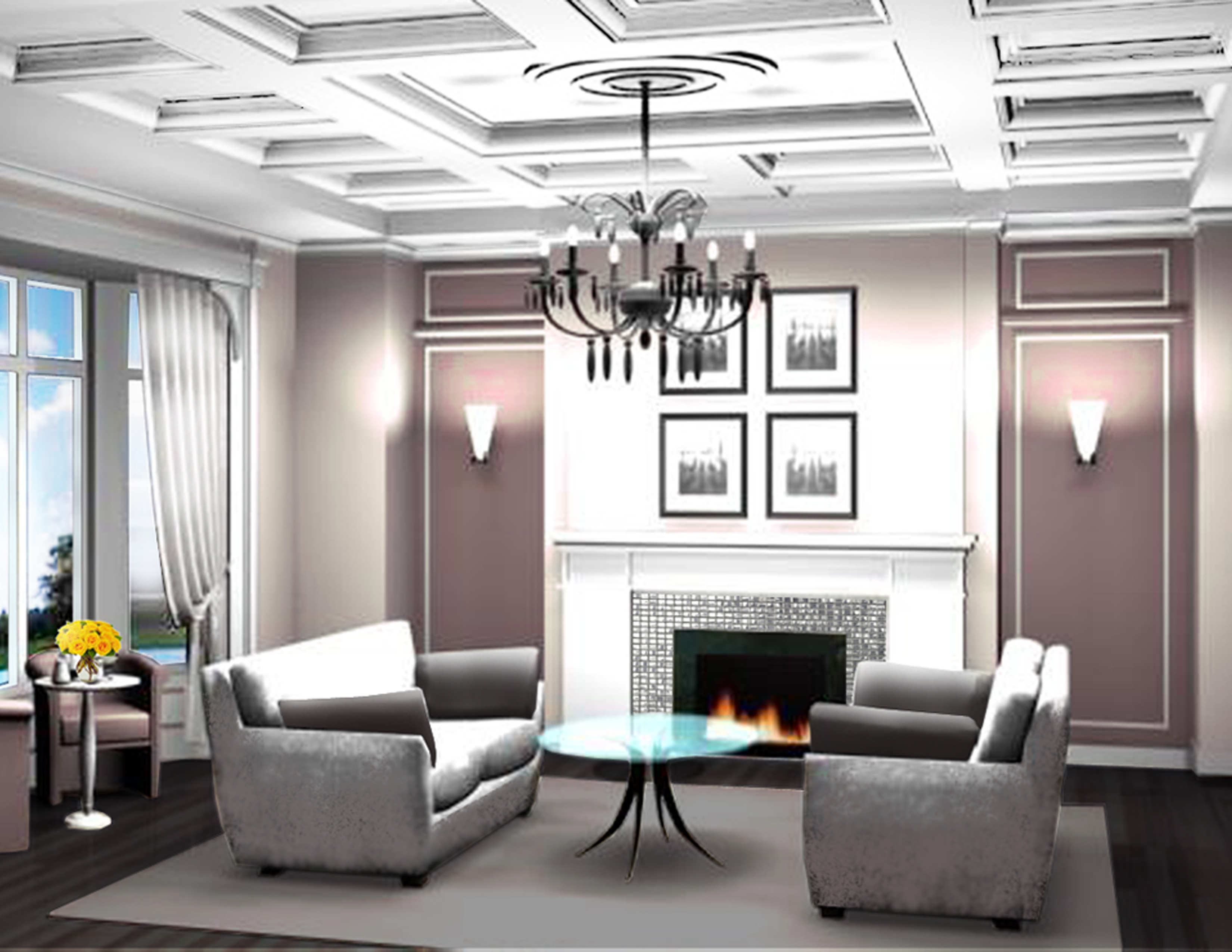 The Interior Design of The Classic Mansion