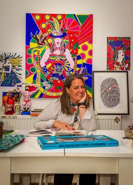 Artist  - Victoria Shone
