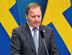 Löfven's government falls over housing policy