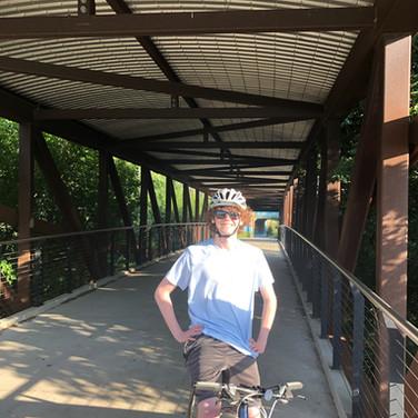 Hank Aaron Trail Bridge - Biking