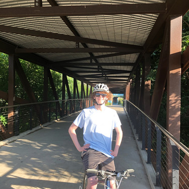 Hank Aaron Trail Bridge - Biking