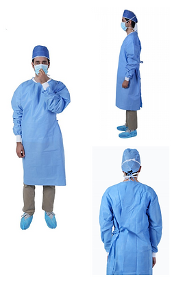 level2 isolation gown