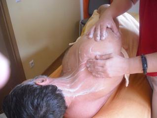 Bei Schulter-Arm-Beschwerden                       --> Zentrifugalmassage<--