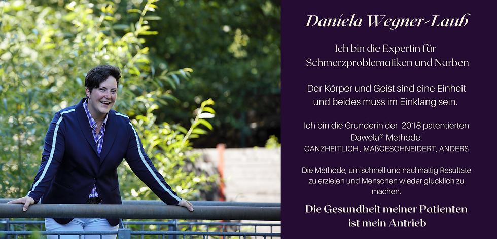 Daniela Wegner-Laub Expertin für Schmerzproblematiken und Narben