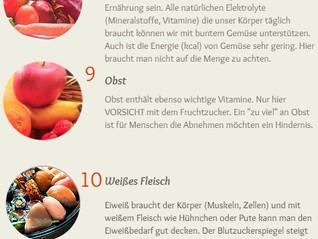 10 Top Ernährungstipps