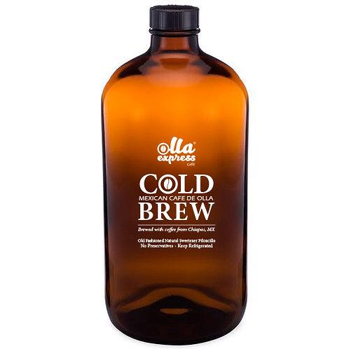 Cold Brew de olla Cacao- 2 BIG Bottles pack (32 oz each)