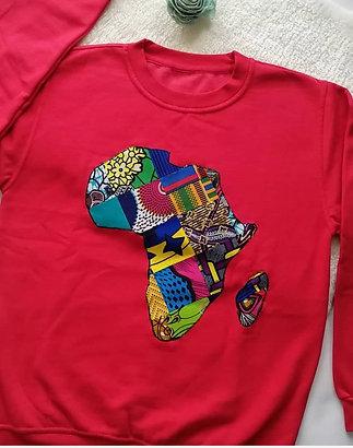 Red Mama Africa sweatshirt