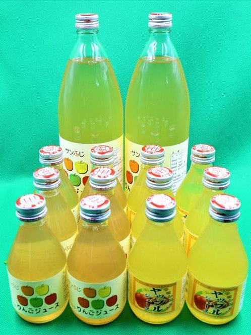 ③りんごジュース&ヤップルジュース