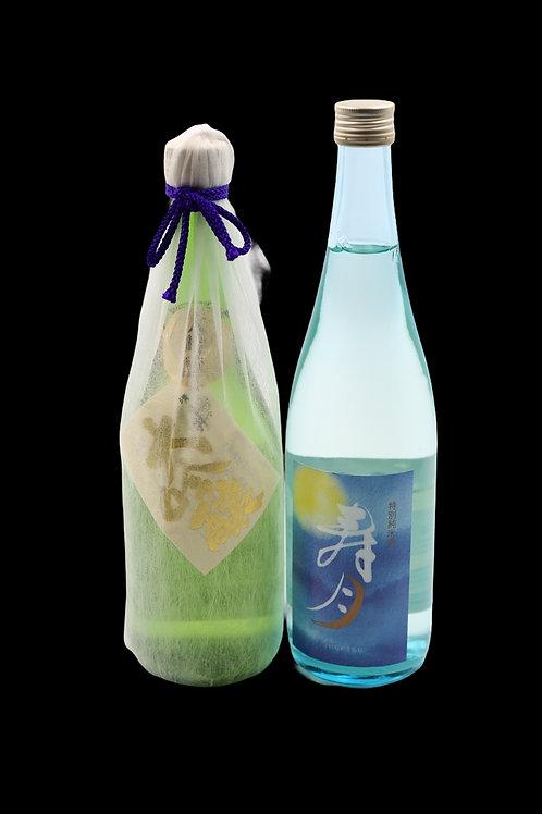 ⑪寿々乃井酒造店四合瓶セット