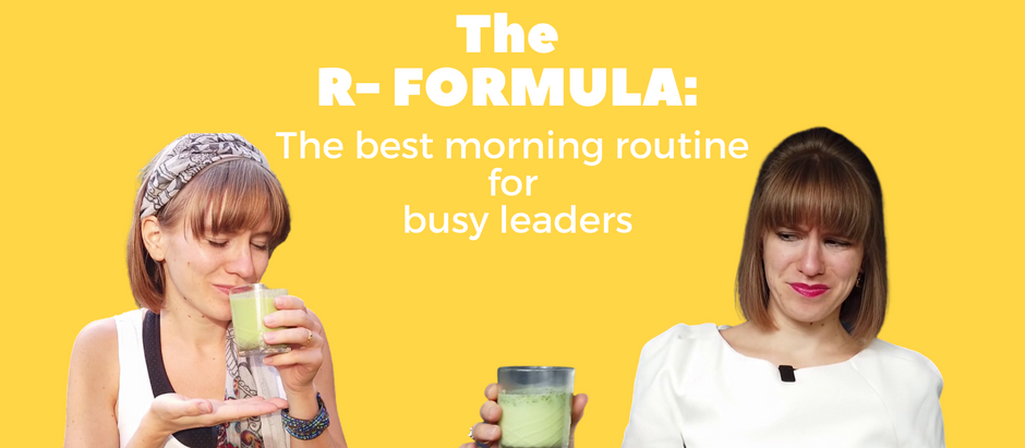 The best morning routine for busy leaders