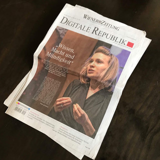 Wiener Zeitung Valerie Cover Page compre