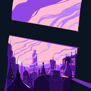 PROCESS: Experimenting with colour palette, 2020.