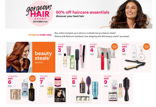 What I'm Getting during Ulta's Gorgeous Hair Event Week 1