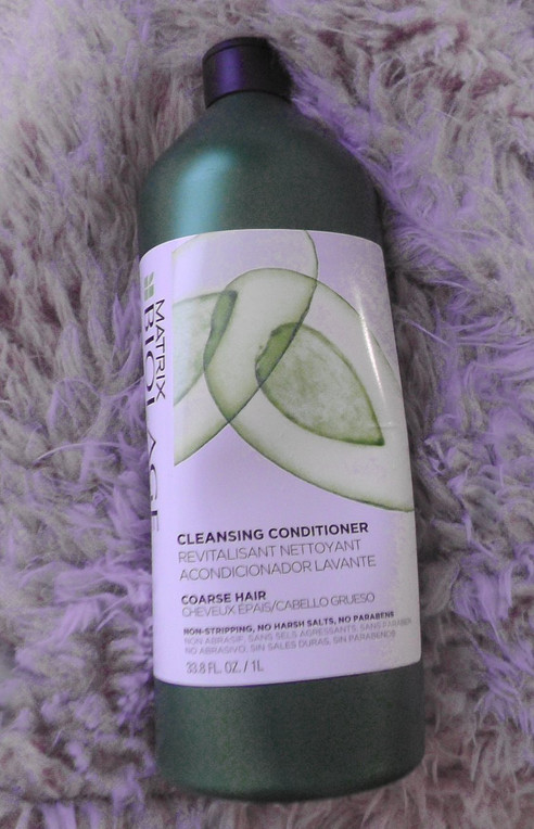 Obsession of the Week: Matrix Biolage Cleansing Conditioner for Course Hair