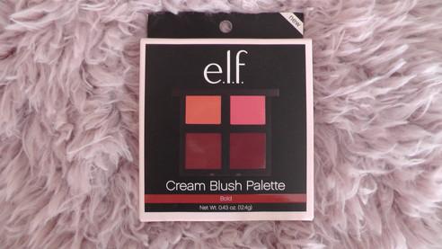 Swatches: New E.l.f Cream Blush Palette in Bold!