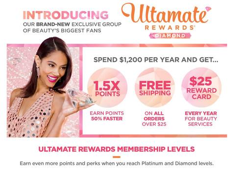 When Diamonds Are Not a Girl's Best Friend: Ulta Introduces New Diamond Rewards Program