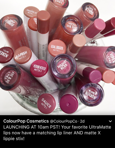 Oh Snap! ColourPop releases New Matte X Lippie shades