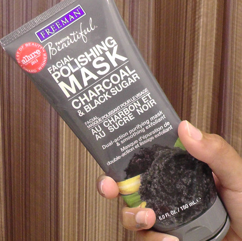 Obsession of the Week: Freeman's Charcoal & Black Sugar Polishing Mask