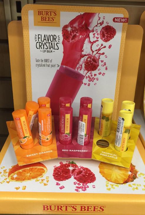 First Fail of 2017: Burt's Bees Flavor Crystal Lip Balms