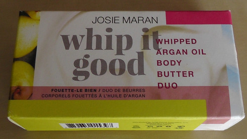 Obsession of the Week: Josie Maran's Whipped It Good Body Butter Duo