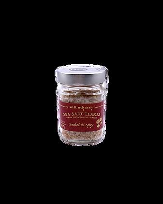 Meersalz-Flocken - geräuchert&scharf 100g