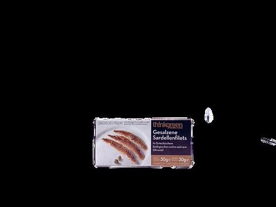 Gesalzene Sardellenfilets - 50g