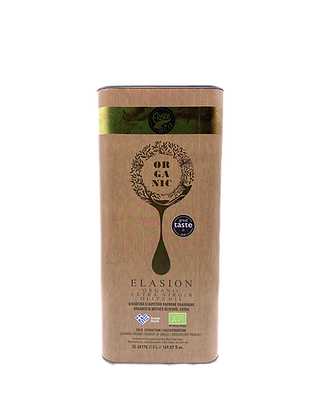 GOLD ELASION BIO-  Extra Natives Olivenöl - 5L Kanister