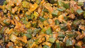 Spicy Bhindi Masala(Okra)