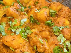 Masala Aloo Pakistani Style Potatoes by Shai Ayoub
