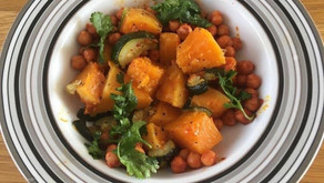 Butternut Squash, Courgettes and Chickpeas by Mussarat Arif