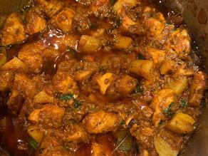 Shai's Mum's Chicken Bhuna With Potatoes