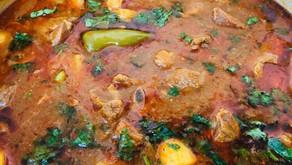 Pakistani Lamb and Potato Curry by Shabnam Khizer