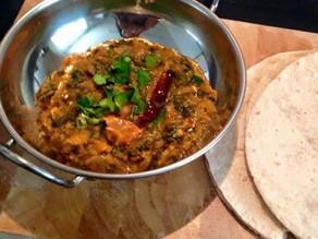 Dal Palak (lentils and spinach) by Shai Ayoun