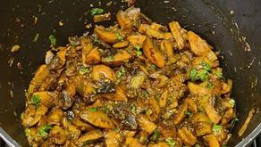 Spicy Mushrooms by Tracey Ramseebaluck
