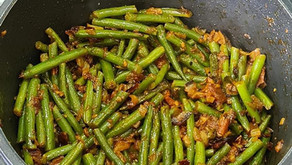 Spicy Green Beans by Tracey Ramseebaluck