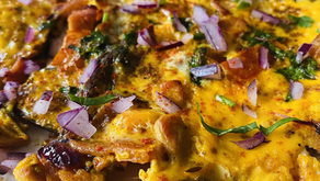 Indian Omelette by Shai Ayoub