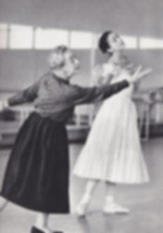 Tamara Karsavina and Margot Fonteyn