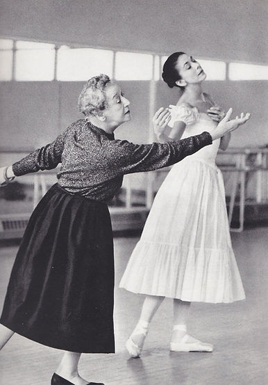Tamara Karsavina and Margot Fonteyn