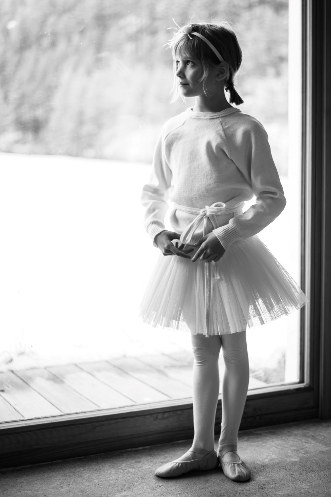 Ballerina Contemplating - Photo © Daniela Brugger