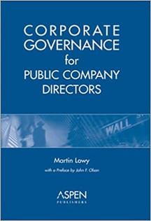 Corporate Governance for Public Company Directors