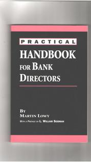 Practical handbook for bank directors