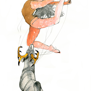 Ballerina and Stag