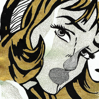 Girl with hair Pop Art.png