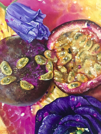 Triptych (Passionfruit)