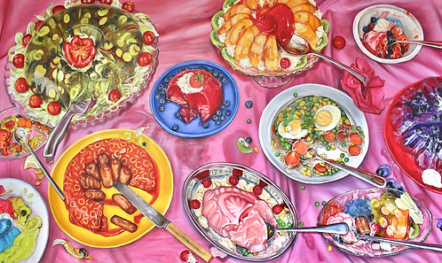 'There's Always Room for Jell-O!' Original Painting
