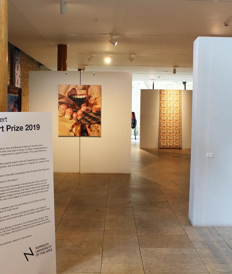 Bishop's Art Prize: Streams in the Desert