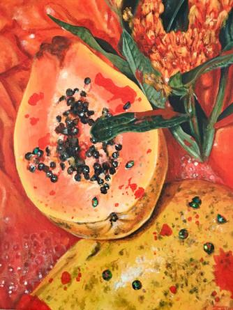 Triptch (Papaya)