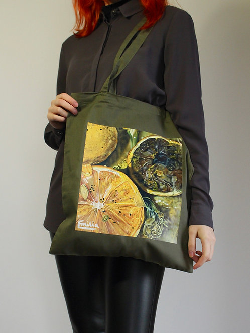 'Eight Days Later' Printed Tote