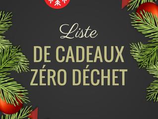Liste de Noël Pour les Zero Wasters
