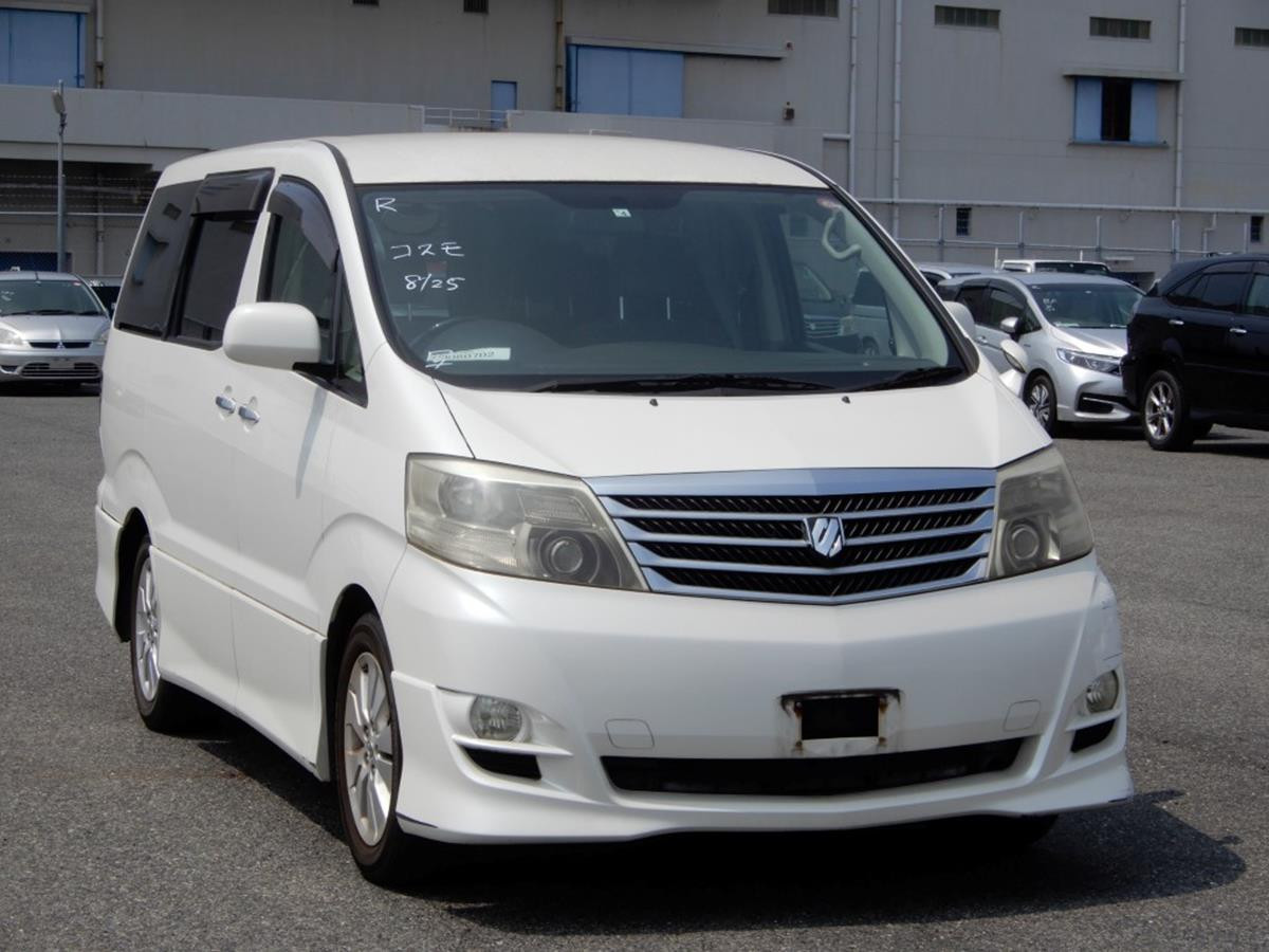 2006- White- Toyota Alphard - AS Ltd -AN